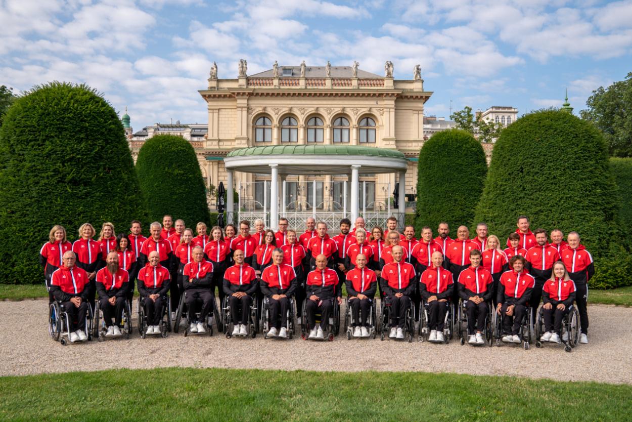 Startschuss für die Paralympics TOKIO 2020