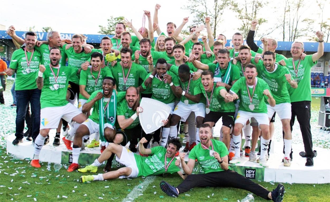 Wattens steigt auf: ERIMA wieder in der österreichischen Fußball-Bundesliga