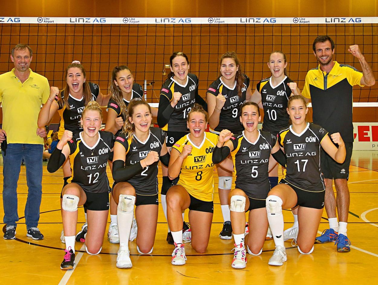 STEELVOLLEYS Linz Steg holen erneut Cup-Titel