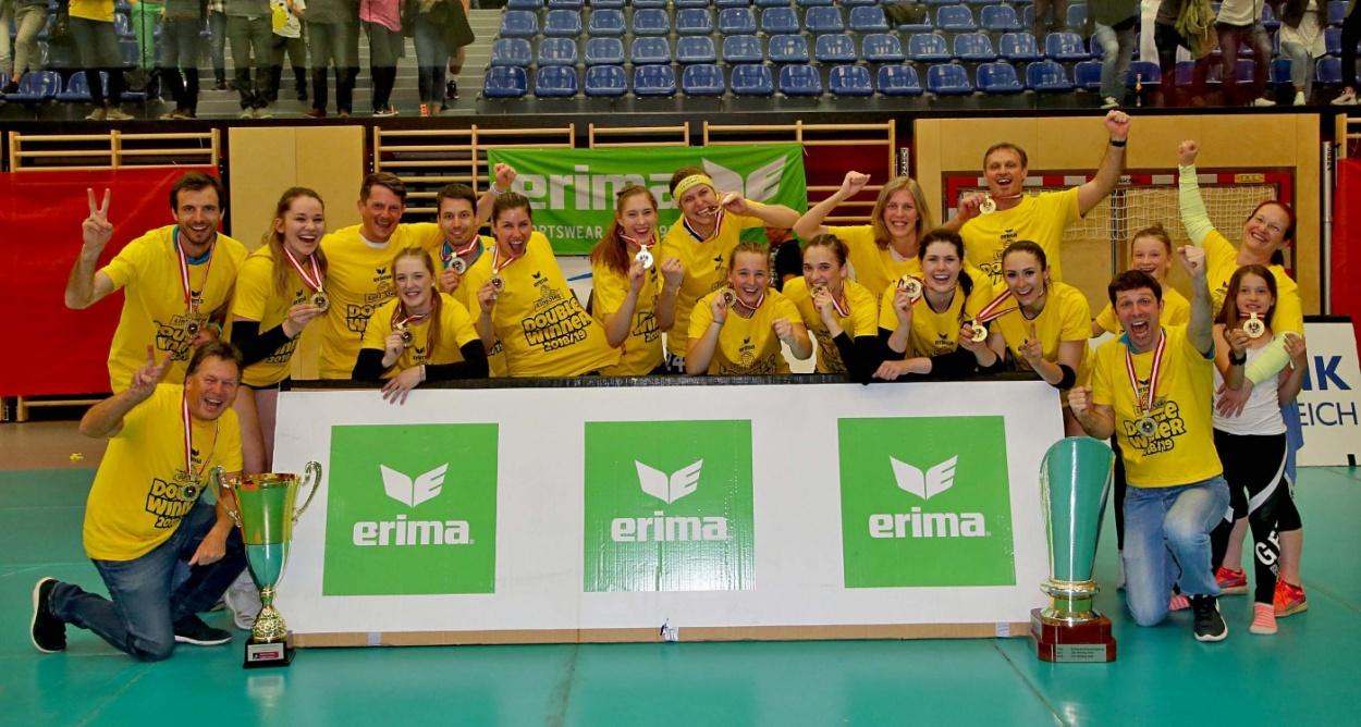 Frauen-Volleyball: Österreichische Spitze fest in der Hand von ERIMA
