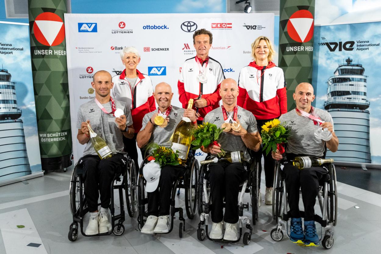 Gold, Silber & Bronze für das Paralympic Team Austria