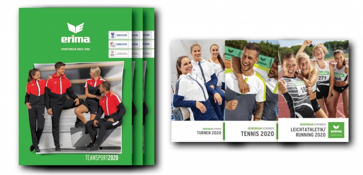 Die neuen ERIMA Kataloge sind da!