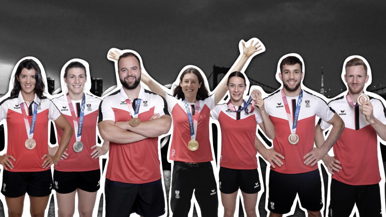 7 Medaillen für Österreich - Wir gratulieren!