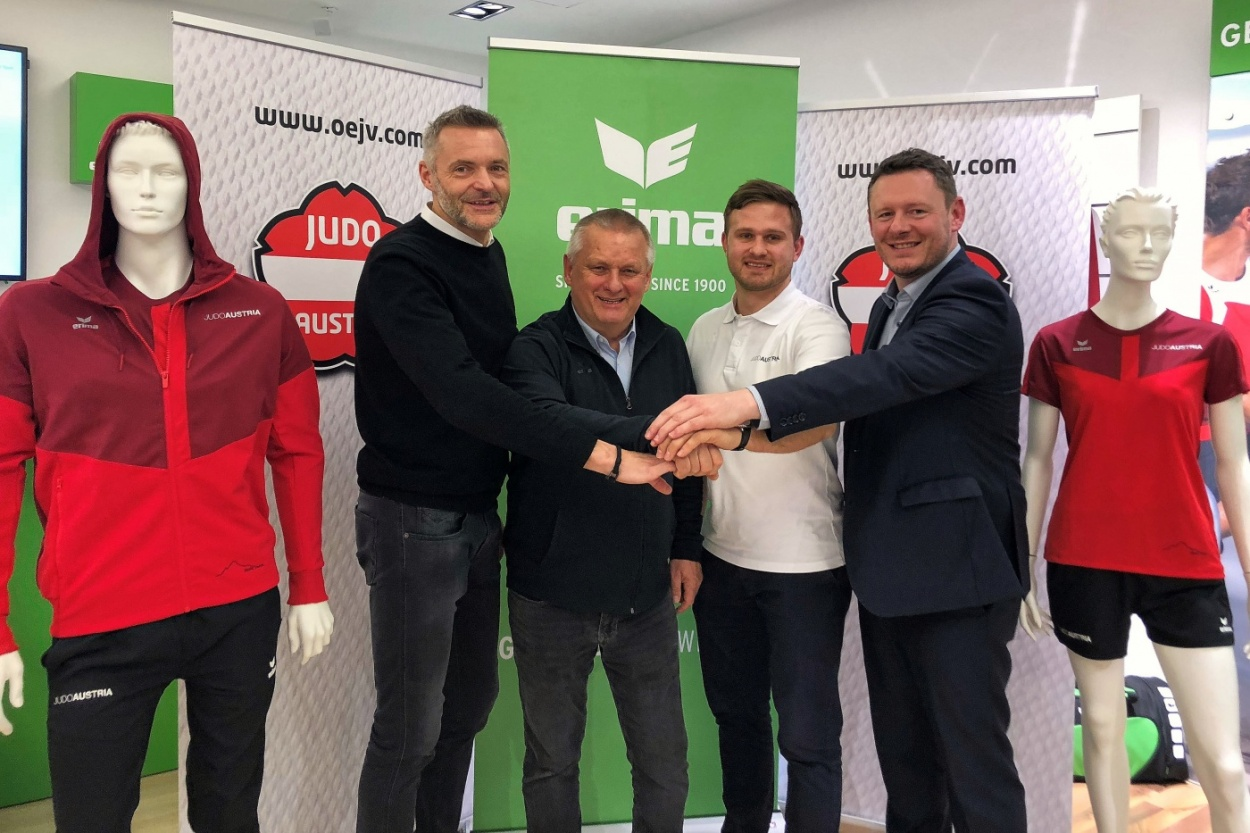 Eine olympische Partnerschaft: ERIMA neuer Ausrüster des Judoverbandes