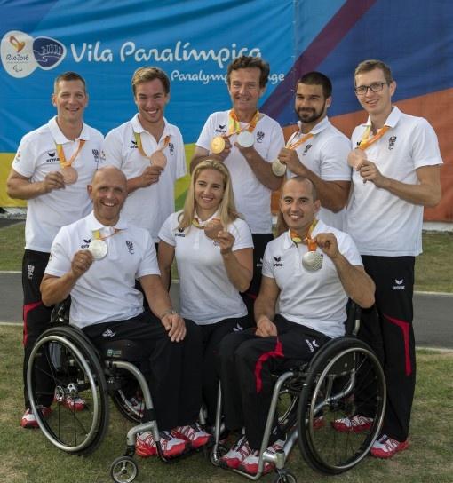 9 Medaillen für das Paralympic Team Austria