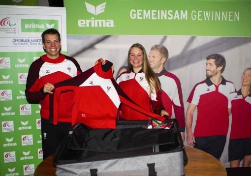 Begeisterung bei Paralympic Team Austria Einkleidung!