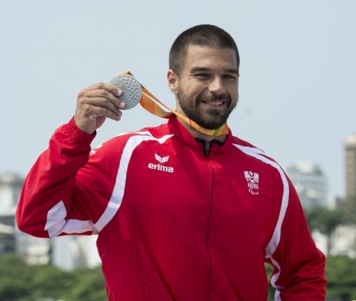 Silbermedaille für Mendy Swoboda im Parakanu