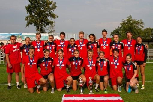 2x Silber für U21 Nationalteams bei Faustball EM