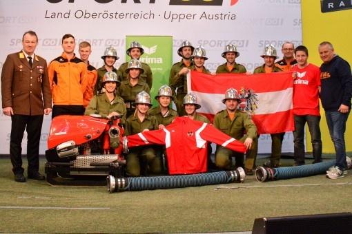 ERIMA rüstet österreichisches Team  bei Int. Feuerwehr-Wettbewerb aus