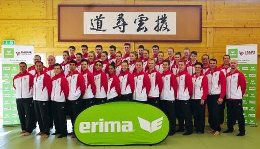 ERIMA stärkt olympische Sportarten mit Engagement bei Karate Austria