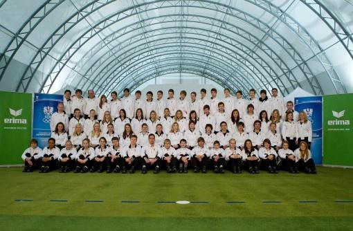 Olympische Jugendspiele: Österreichisches Team mit neuer ERIMA-Linie eingekleidet