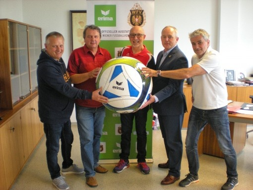 Eine starke Partnerschaft: ERIMA  und der Wiener Fußballverband