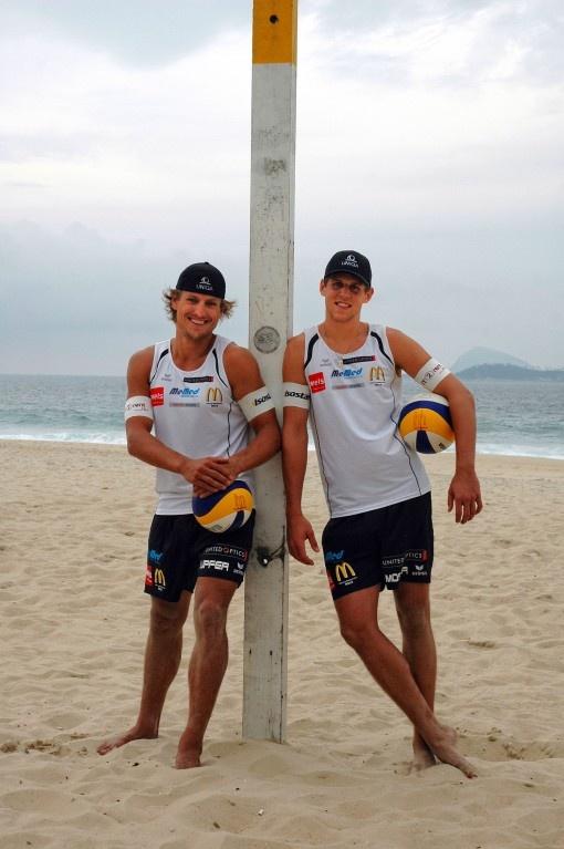 ERIMA-Beachvolleyball-Herren feierten ihren ersten großen nationalen Sieg