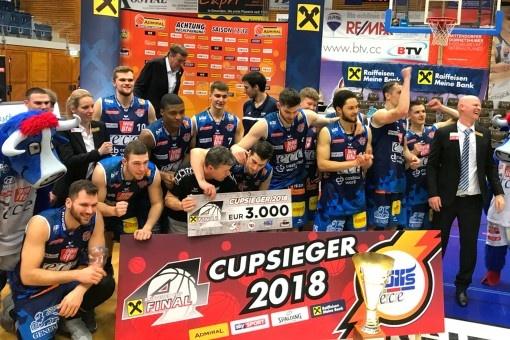 ERIMA-Partner Bulls Kapfenberg setzt Basketball-Titelserie fort