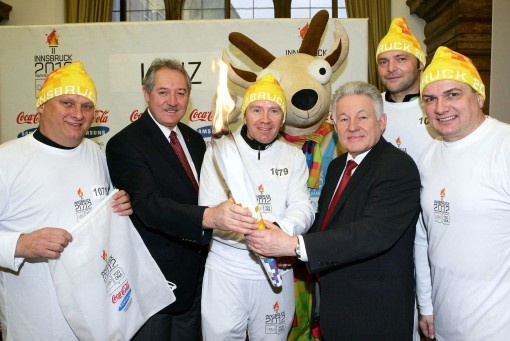 ERIMA und Sportunion brachten das Olympische Feuer nach Oberösterreich