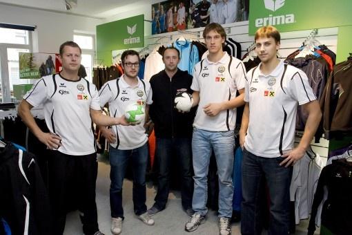 Geburtstag: SPORTS AND MORE in Innsbruck mit ERIMA-Shop erfolgreich
