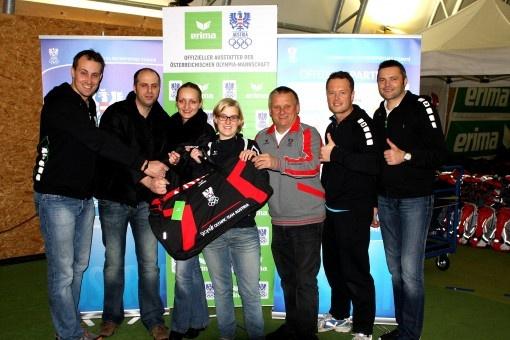 Top-Service für österreichische Olympiasportler