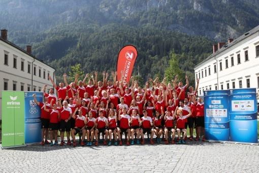 Youth Olympic Team Austria zeigt sich begeistert vom neuen Look!