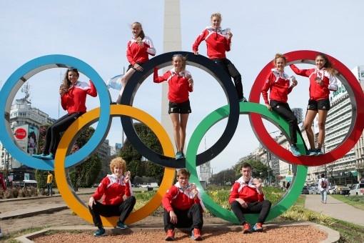 Medaillenregen bei den YOGs in Buenos Aires