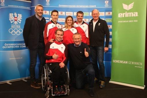ERIMA präsentierte in Salzburg Olympia-Kollektion für die Spiele in Pyeongchang