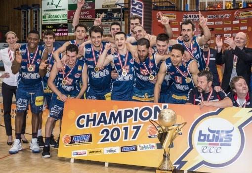 Langjähriger ERIMA-Partner holte Basketball-Double nach Kapfenberg