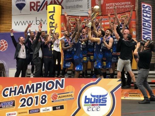 Bulls Kapfenberg setzen in ERIMA neue Basketball-Titelmaßstäbe