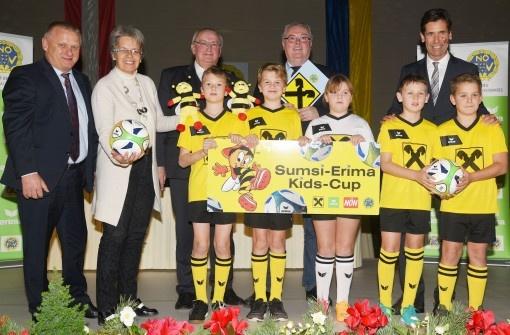 Sumsi-Cup: ERIMA engagiert sich für den  Nachwuchs-Fußball in Niederösterreich