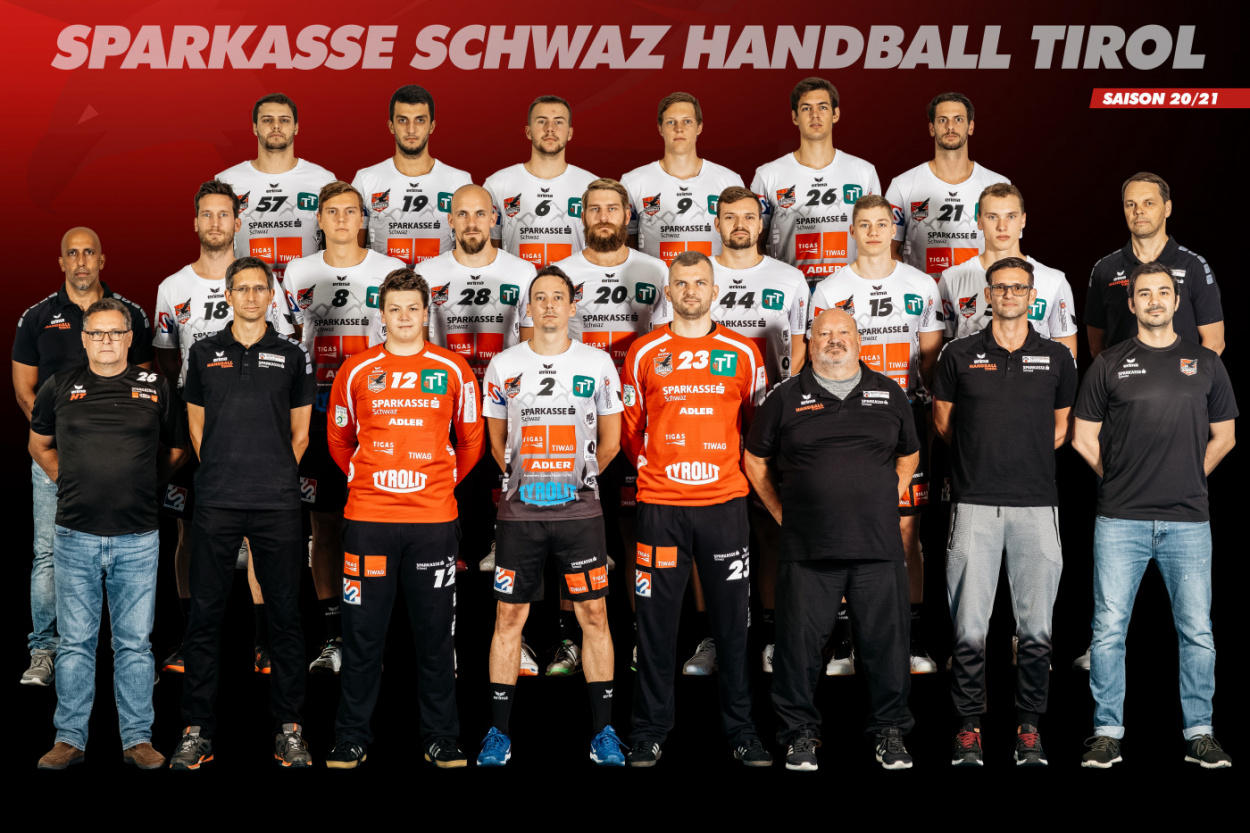 ERIMA Partner Sparkasse Schwaz Handball Tirol erobert die LIGA Spitze!