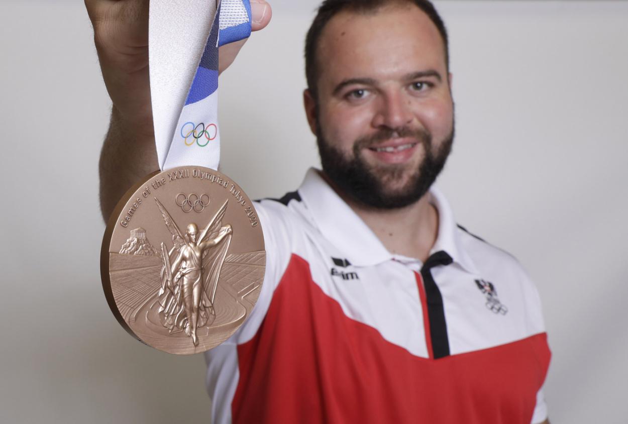 Bronze für Lukas Weißhaidinger!!